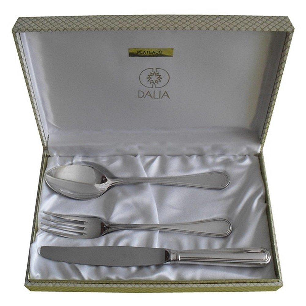 Cubierto Dalia [3892GR] - Personalizable - GRABACIÓN INCLUIDA EN EL PRECIO: Amazon.es: Joyería