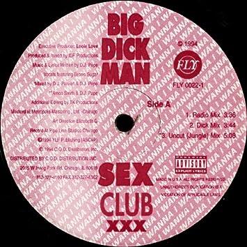 Dick Home BIG DICK CLUB - T-shirt bio Homme.