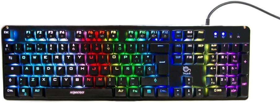 Talius Kimera - teclado mecánico gaming, led por switch, modo ...