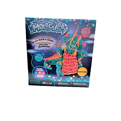 Orbmolecules The Orb Factory Mantizard Never Dries Compound, Blue/Orange/Pink: Toys & Games