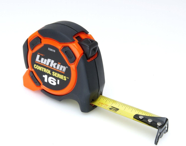 "Home Depot Hi-Viz Orange//Black Rubber 16ft.X 3//4/"" Tape Measure....Lightly Used"