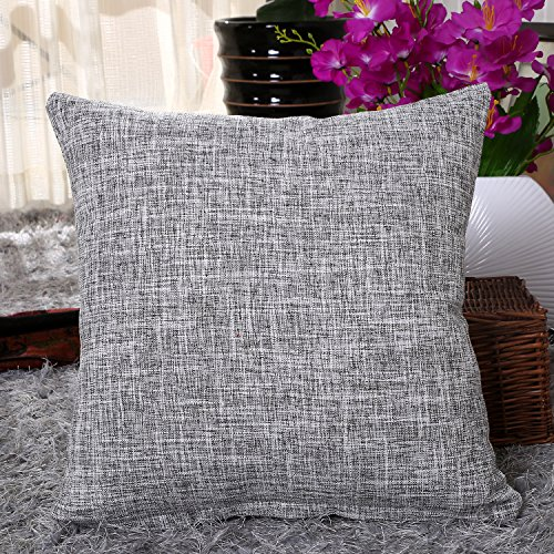 Pillowcase Uartlines Slubbed Decorative Cushion