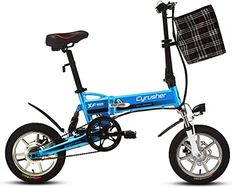 cyex XF600 adulto plegable 240 W para bicicleta eléctrica 36 V 8.8 ...