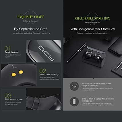 Amazon.com: Soonbuy Bluetooth Headphones,Stereo Wireless Sports Earbuds with Mic Noise Cancelling Lightweight In-Ear Earphones Come with Intelligent ...