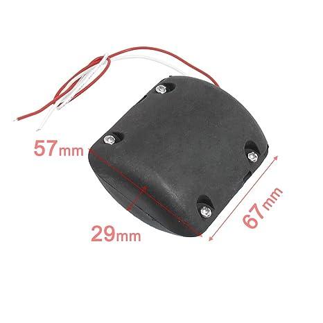 Amazon.com: Helen-Box - Carcasa negra 12V 6200Rpm vibrador ...