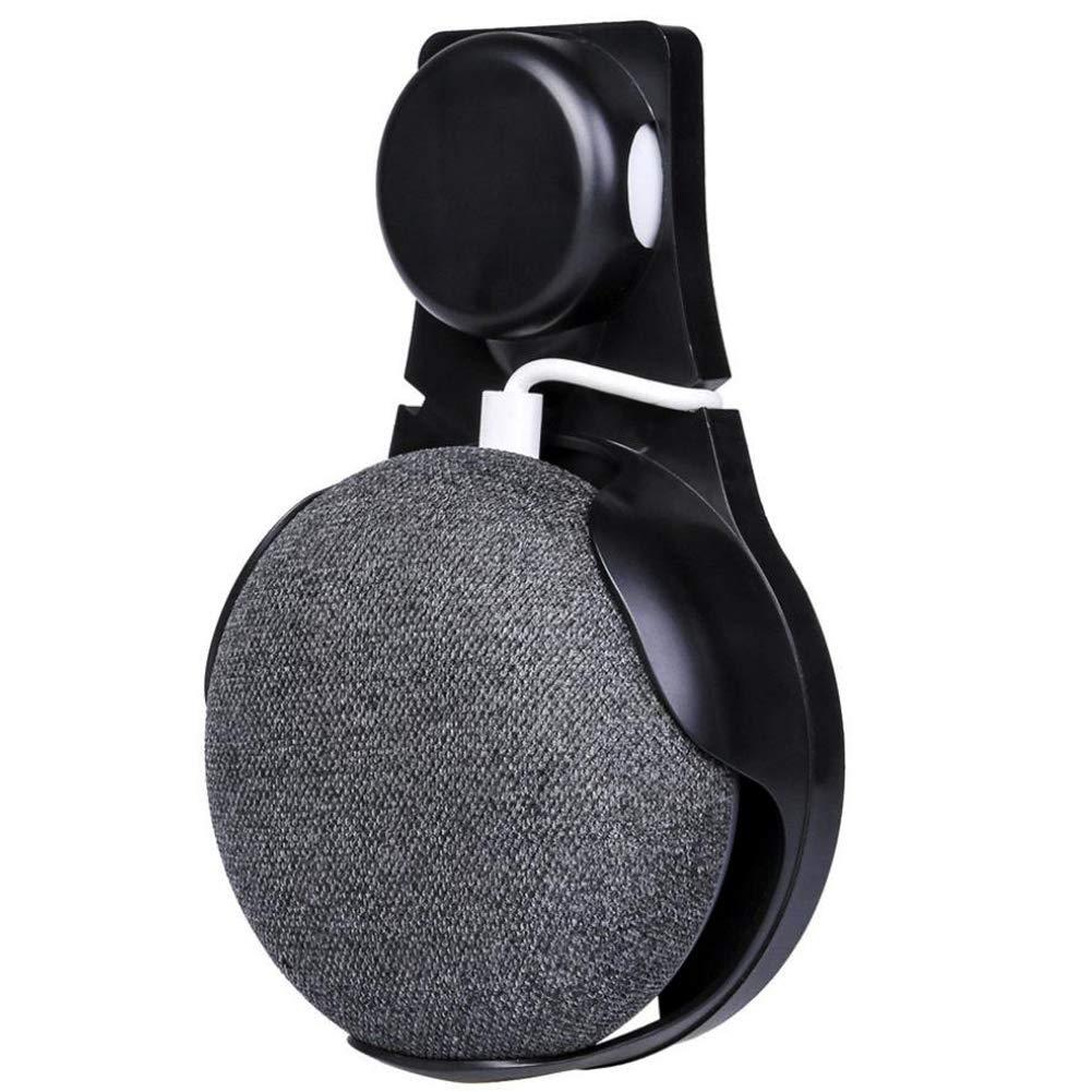 Supporto a Muro Titolare Appendiabiti per Google Home Mini Assistenti Vocali Disposizione dei Cavi in Cucina Bagno Camera da Letto Blanco
