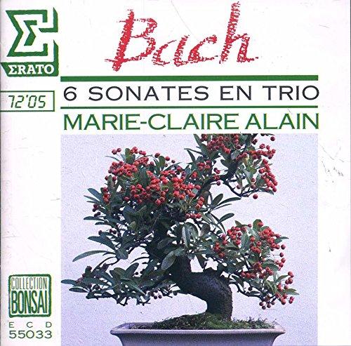 Bach: 6 Sonates En Trio Nos. 1~6