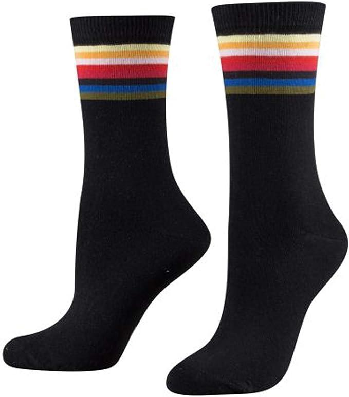 TOM TAILOR Damen Socken 2er Pack im Regenbogen Design
