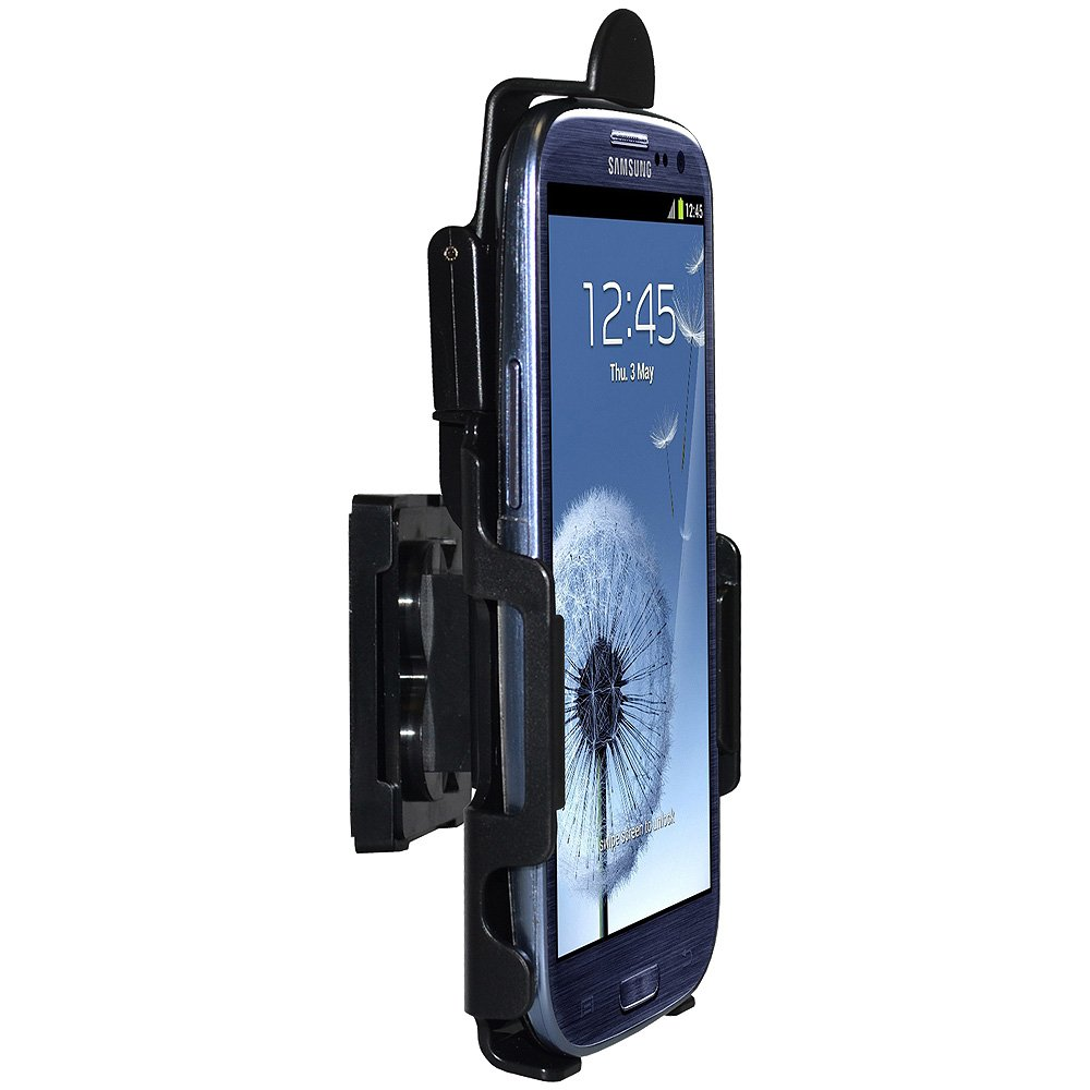 Black Retail Packaging Amzer AMZ95647 Anywhere Magnetic Vehicle Mount Holder for Samsung Galaxy S 3 III I9300