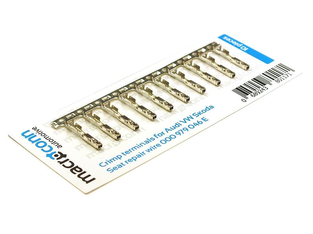 Macroconn crimp terminals for Audi VW Seat Skoda repair wire 000979046E 10 pcs