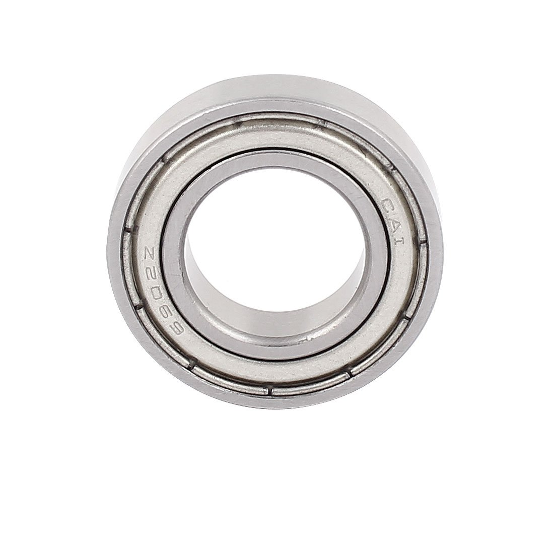 sourcingmap/® 6902Z 15 x 28 x 7mm Shielded Deep Groove Radial Ball Bearing 5Pcs