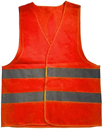 Taille: 2XL Homme Gilet de haute visibilit/é Orange 430037 Blackrock