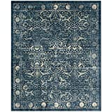 Safavieh Evoke Collection EVK512D Vintage Navy and Beige Area Rug (10′ x 14′) Review