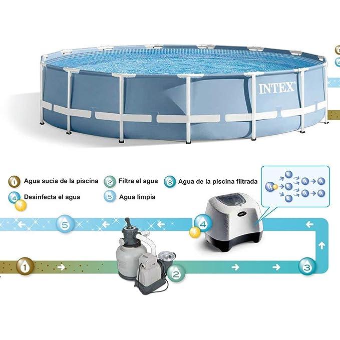 Intex 26666 - Sistema cloración salina 11 gr/h & ozono 150 ml/hora