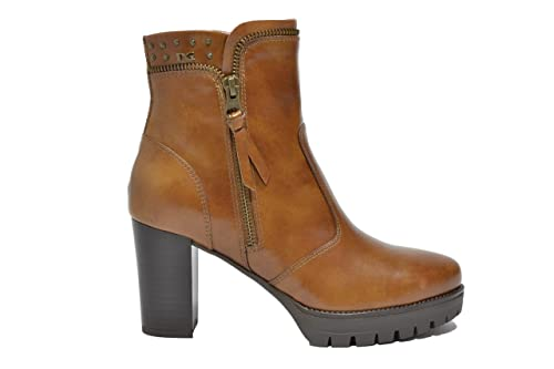 NERO GIARDINI Tronchetti scarpe donna cuoio 9934 mod. A719934D
