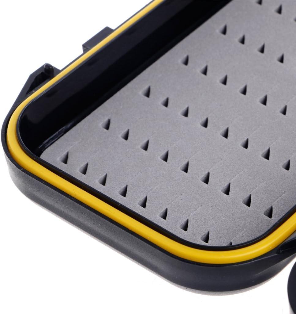 bo/îte de rangement app/ât mouches siwetg Bo/îte de rangement portable et /étanche pour leurres de p/êche /à la mouche truite