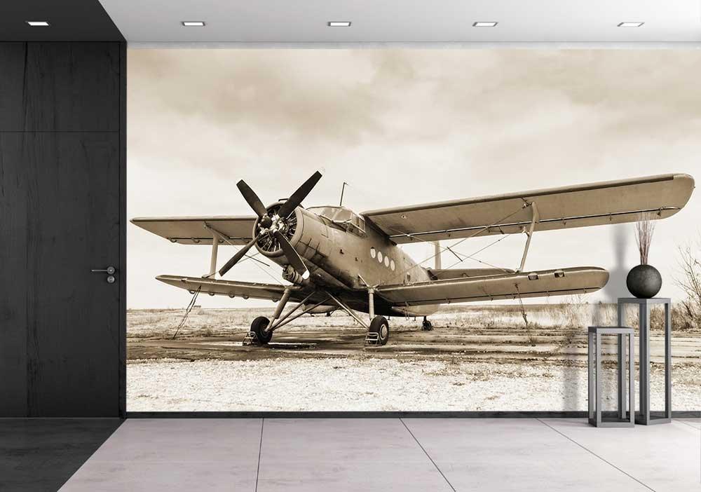 Art prints framed art canvas prints for Cockpit wall mural