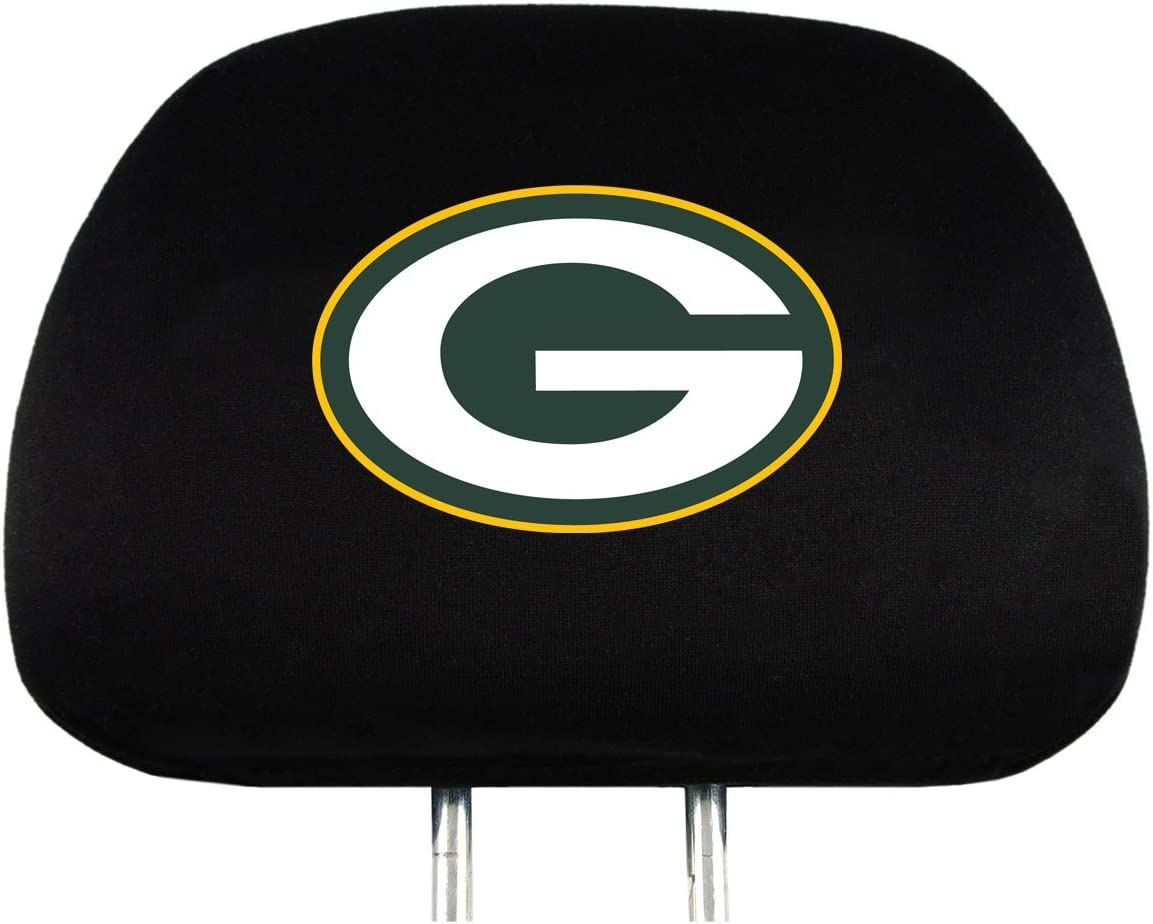 2-Pack NFL Head Rest Covers