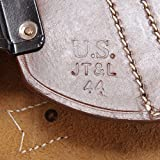 World War Supply US WW2 M1 Carbine Leather Scabbard