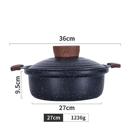 G & Z cacerola la sopa stufato olla aleación de aluminio antiadherente pan Hornillo a Gas