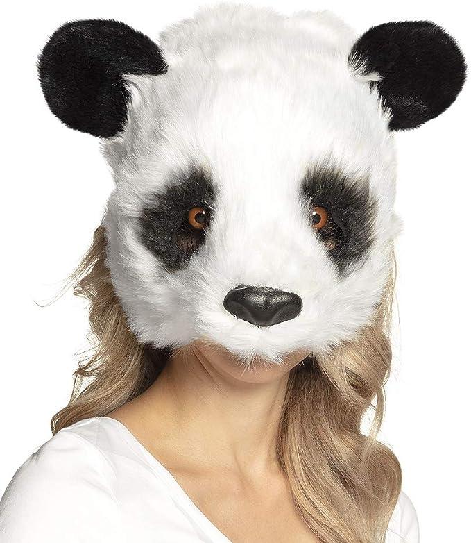 Boland Máscara de Panda de Felpa para Adultos, máscara de Media ...