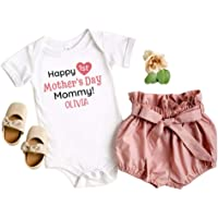 Baby Shower Gift IVF baby clothes Mama\u2019s Girl Baby Bodysuit Baby Girl Outfit New Mom Gift Cute Baby Clothes