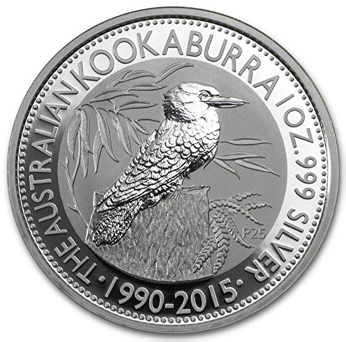 Kookaburras 1 Oz Silver Coins - 2015 Australia 1 oz Silver Kookaburra Coin $1 Brilliant Uncirculated