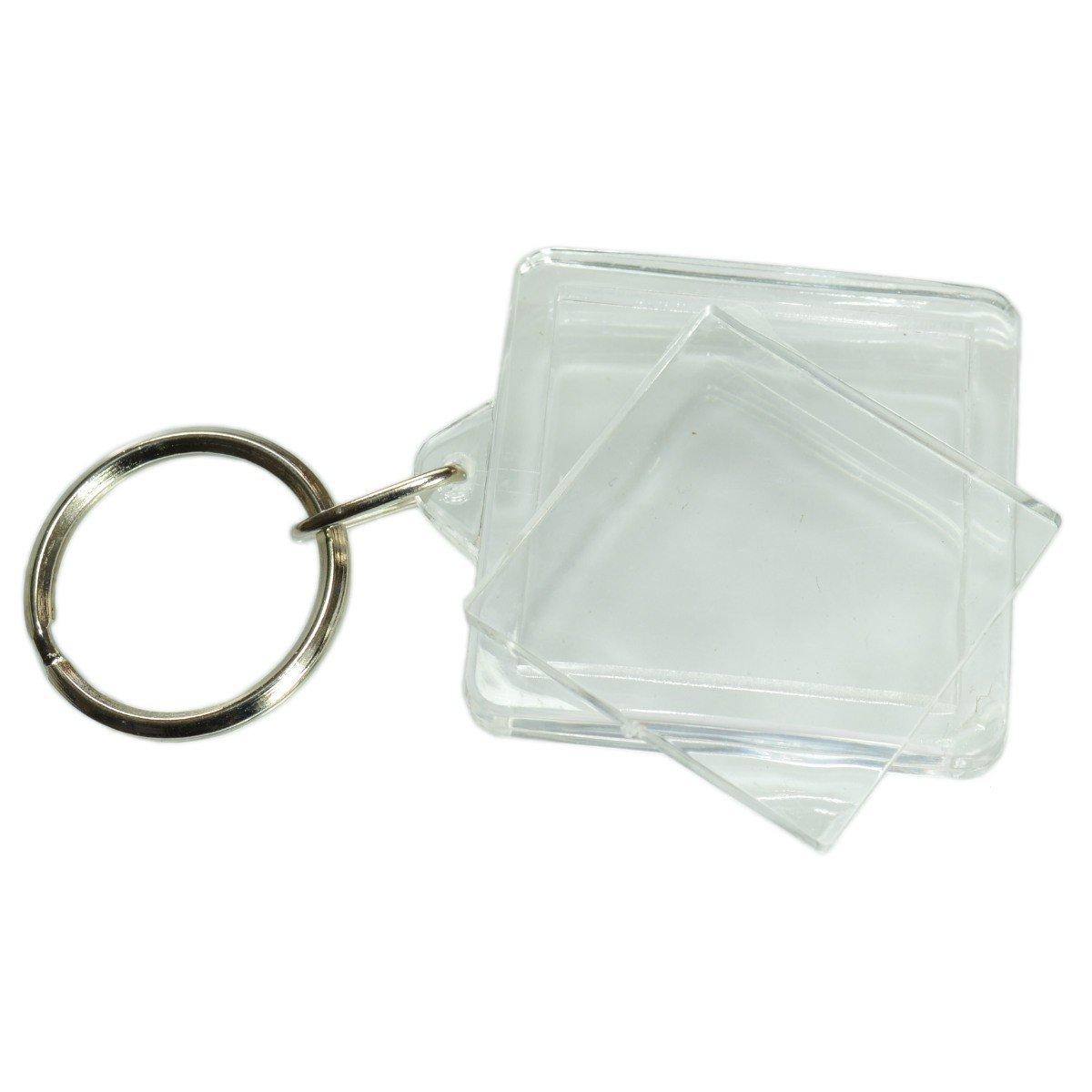 Bien connu Porte clé à fabriquer soi-même, porte clef photo plastique  LG76