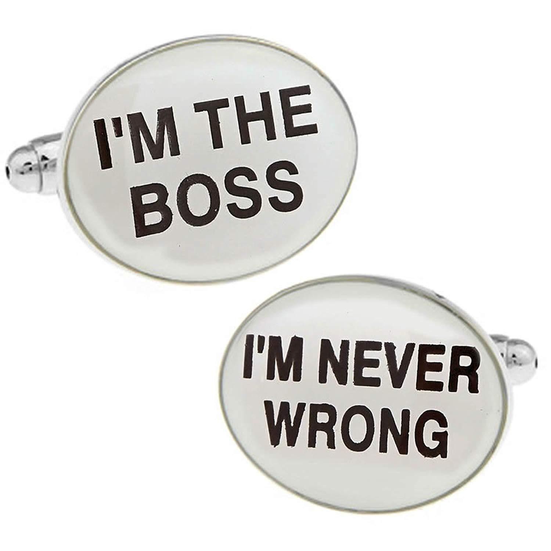 I'm The Boss Cufflinks