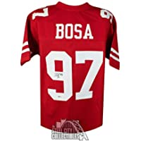 $290 » Nick Bosa Autographed Jersey - Custom BAS COA - Beckett Authentication - Autographed NFL Jerseys