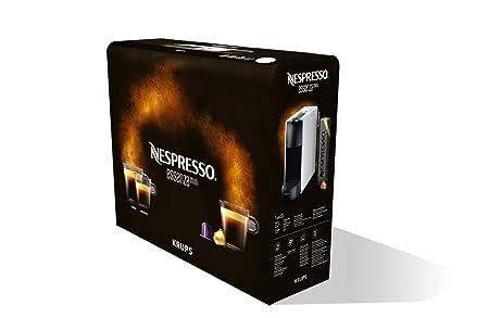 Krups YY2912FD - Cafetera (Independiente, Máquina espresso, 0,6 L, Cápsula de café, 1200 W, Negro, Blanco): Amazon.es: Hogar