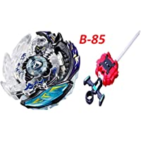 Urcara Bey Burst Gyro Battling Top Beyblade Burst B-85 Killer Deathscyther.2V.Hn Attack Booster with Launcher + Grip Set Top Battle Set Toys for Kids