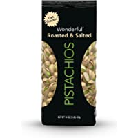 Wonderful Roasted & Salted Pistachios 16-oz Bag