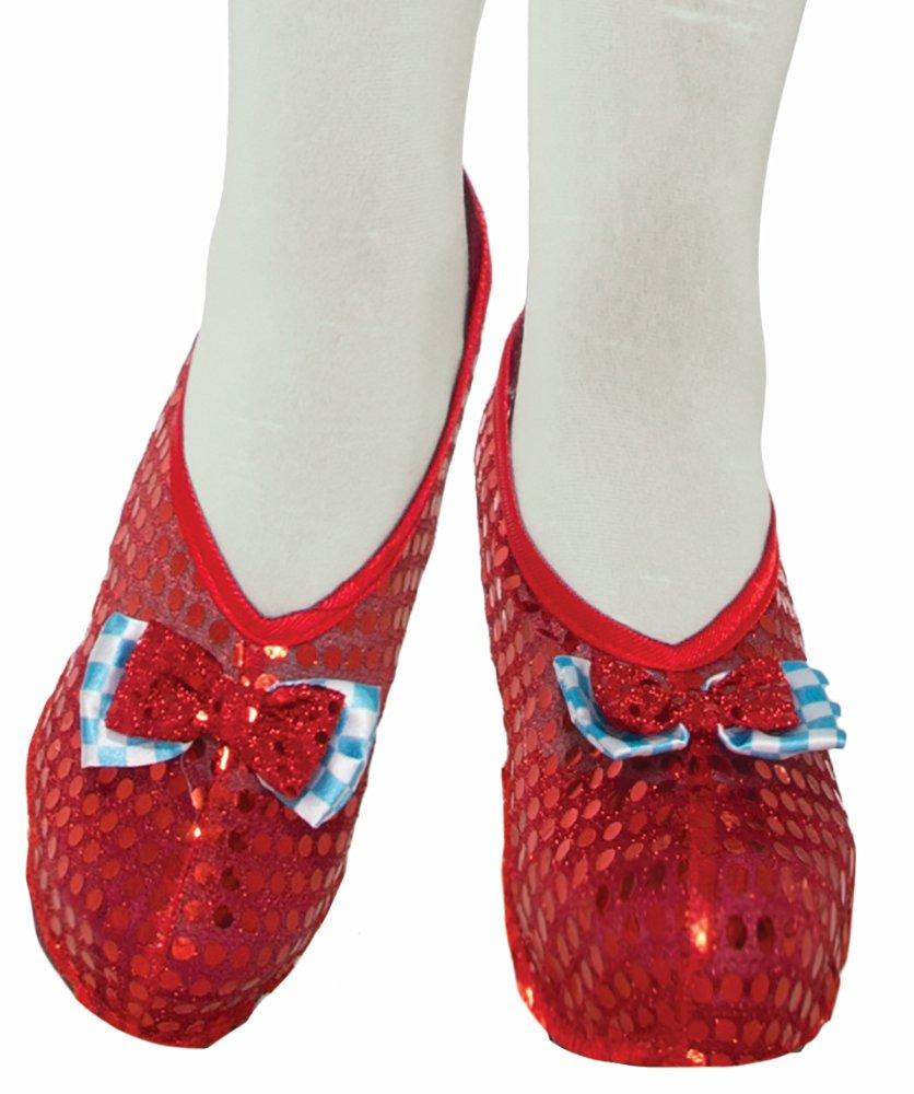 Forum Novelties Farm Girl Shoe Covers, Red, Standard 78300
