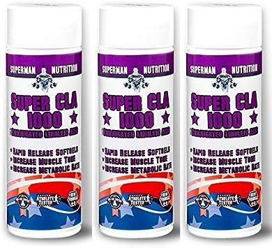 3 x CLA 1000mg | 180 Dosis Perder peso | El Mejor Suplemento ...