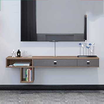 Lrzs Salon Minimaliste Moderne Suspendu Meuble Tv Ultra
