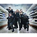 Nostalgia Store Hot Fuzz Simon Pegg 10X8 Hd Metal Print