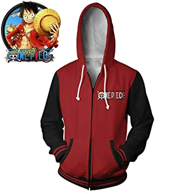 Sudadera con Capucha 3D con Capucha Anime Pullover Jersey ...
