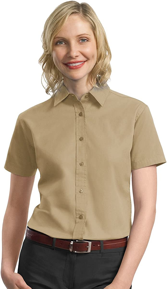 Harriton M520W Women/'s Millennium Twill Shirt…