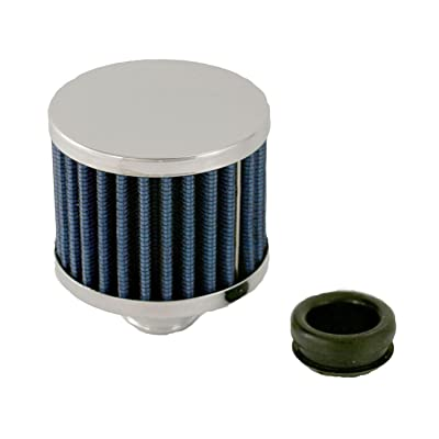 Spectre Performance 42856 Blue High Performance Push-In Breather: Automotive