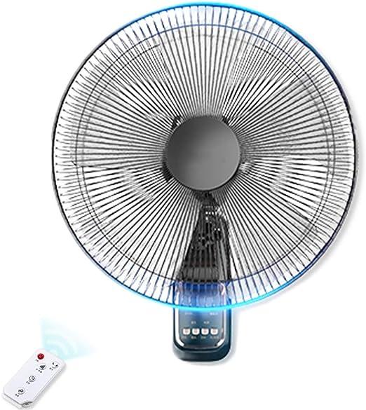 HYDT Ventilador Pared Ventilador silencioso de Control Remoto para ...