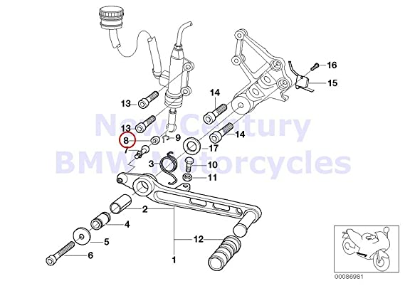 Amazon Com 3 X Bmw Genuine Motorcycle Transmission Gear Shift