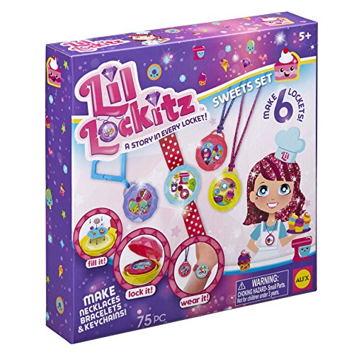 Lil Lockitz Sweets Set (Lil Lockitz Best Friend Party Pack)