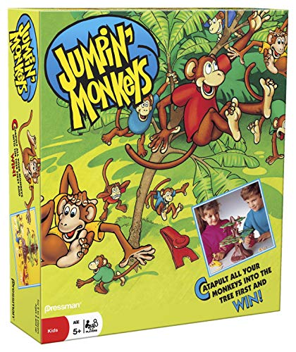 Pressman Jumpin Monkeys Game