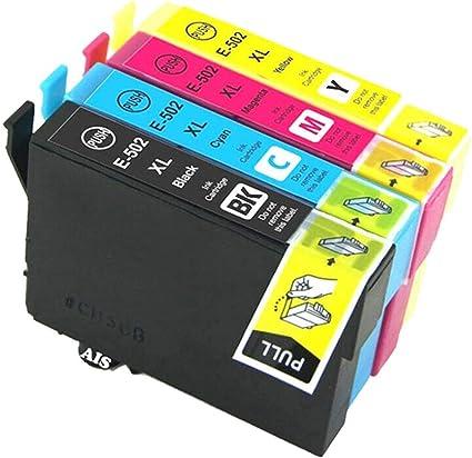 Cartuchos de Tinta para Epson 502 502XL compatibles con Epson ...
