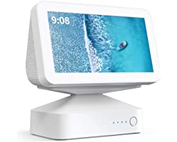 Suporte de base de bateria Echo Show 5, GGMM ES5 Base de bateria para fazer Echo Show 5 portátil, acessórios de alto-falantes