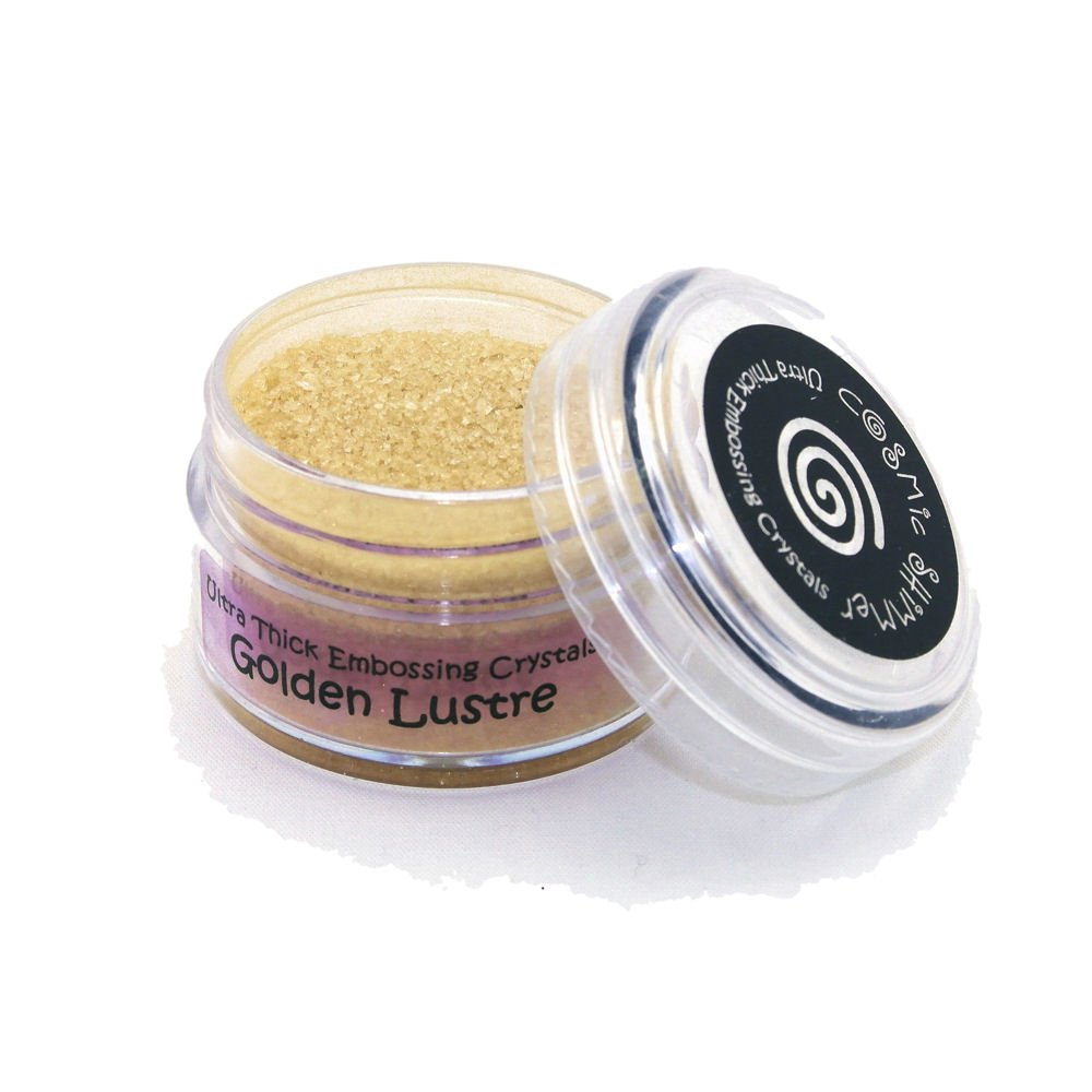 Cosmic Shimmer Ultra Thick Embossing Crystals, Golden Lustre Creative Expressions CSUTGOLD