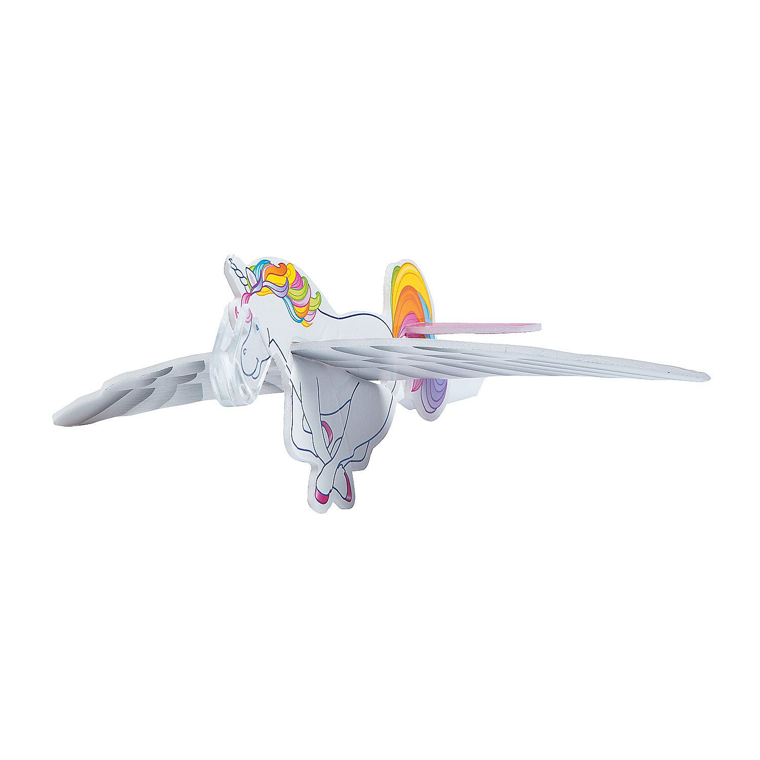 Fun Express - Unicorn Gliders - Toys - Vehicles - Gliders - 48 Pieces by Fun Express