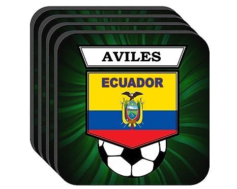 Amazon.com: Raúl Aviles (Ecuador) Fútbol Conjunto de 4 ...