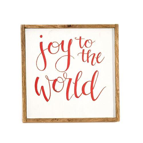 joy to the world sign christmas signs christmas decoration holiday decorations holiday signs holiday decor seasonal